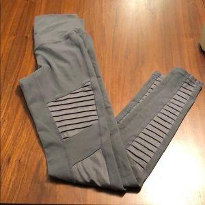 Full length gray leggings